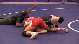 2017 SFU International: 62 kg Braxton Papadopoulos vs. Regina Dickinson