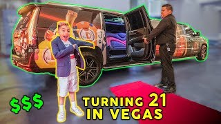 LETTING OUR SON TURN 21 YEARS OLD IN VEGAS **GONE WRONG** | The Royalty Family