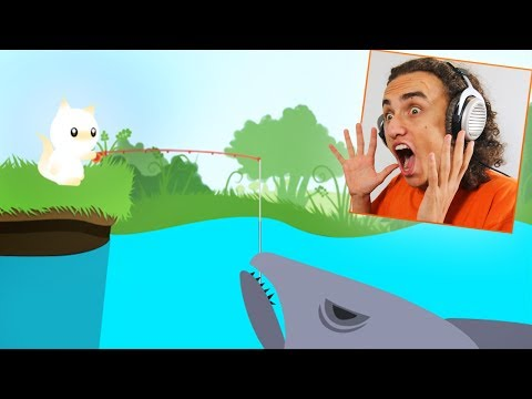 CATCHING THE BIGGEST SHARK IN THE GAME Cat Goes Fishing