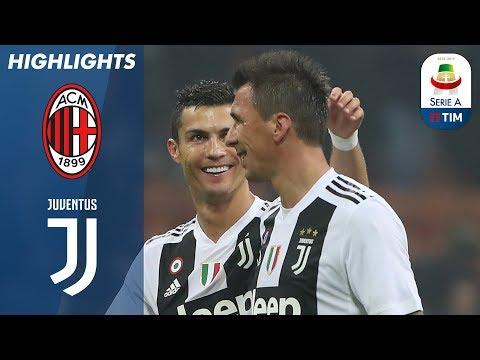 Milan 0 2 Juventus Ronaldo And Mandžukić Stun San Siro Serie A