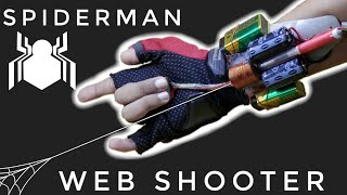 How To Make Spiderman Web Shooter (Electromagnetic)