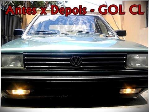 GOL CL 88 Antes e depois