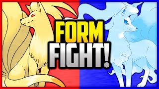 Ninetales: Kanto vs Alola | Pokemon Form Fight