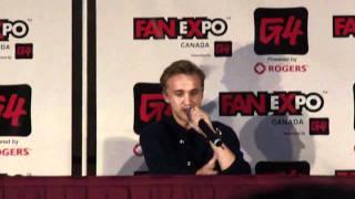 Tom Felton talks fan-fiction, Dramoine, Drarry and Drapple