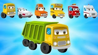 Wrong Head Cars and Truck for Kids #w Street Vehicles for Children | Fire Truck | Tow Truck