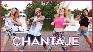 CHANTAJE - Shakira ft Maluma | Coreografia con Lyna | A bailar con Maga