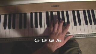 Halo 3: ODST - Another Rain Piano Tutorial