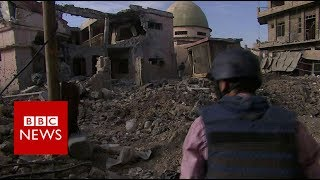 Mosul mosque: Last pictures of Mosul