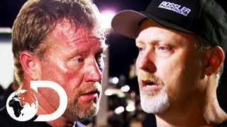 Big Fist Fight Before A Drag Race | Street Outlaws