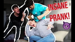 I BEAT UP YOUR SISTER PRANK ON BOYFRIEND - SAVAGE