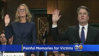 Dr. Ford's Testimony Seen As Catalyst To Get Women Talking About Sexual Violence