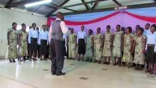 St. Peter's Choir, Kiumoni - NIWE CHOMBO CHA AMANI