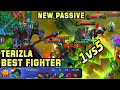 Terizla Overpower Fighter - Mobile Legends Bang Bang