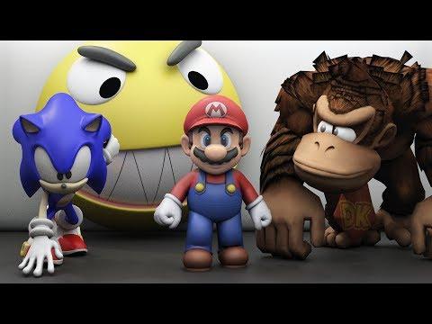 Xxx Mp4 Pacman Vs Mario Sonic And Donkey Kong World 3gp Sex
