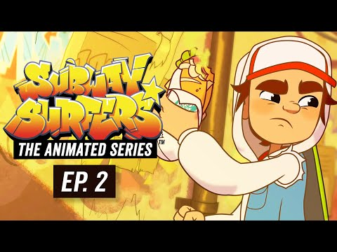 Xxx Mp4 Subway Surfers The Animated Series Episode 2 Busted 3gp Sex