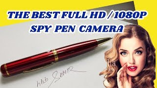 (HINDI) How to use HD Spy Camera Pen / Un-boxing and full review