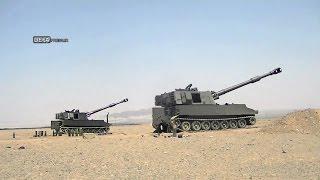 Iran made 155mm Self-propelled Howitzer dubbed Hoveyzeh هويتزر خودكششي هويزه ساخت ايران
