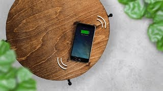 How to Build a Table That Charges Your Phone!
