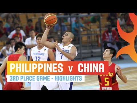 watch Philippines v China - Highlights 3rd Place Game - 2014 FIBA Asia Cup