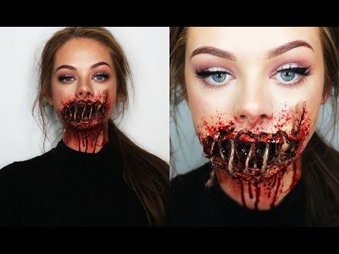 Xxx Mp4 SEWED SHUT MOUTH SFX Makeup 3gp Sex