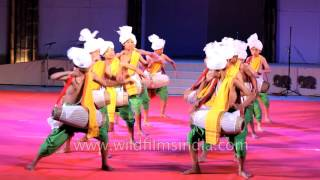 Pung Cholom or Drum dance from Manipur