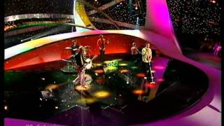 Ruffus - Eighties Coming Back (Estonia - Eurovision 2003 Live) HQ