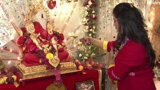 Singer Richa Sharma's Ganpati 2016 Celebrations