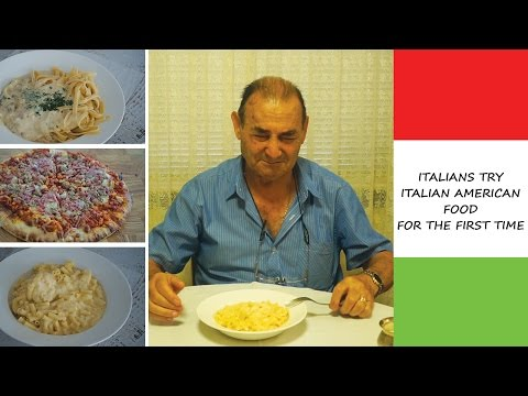Xxx Mp4 ITALIANS TRY ITALIAN AMERICAN FOOD FOR THE FIRST TIME Must Watch 3gp Sex