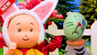 ★NEW★ Gilbert Gets Sick | Funny Animated cartoons Kids | WATCH ONLINE | Caillou Stop Motion