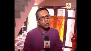 Saraswati Puja is going on at Actress Sandipta Sen;'s residence