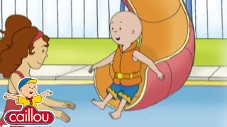 Caillou and the BIG SLIDE - Cartoons for children | Cartoon Movie | Funny Animated cartoon