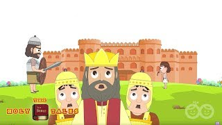 David and Goliath I Popular Bible Stories I Animated Children