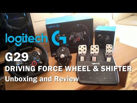 Xxx Mp4 Logitech G29 Driving Force Wheel Shifter Unboxing And Review PS4 PS3 PC 3gp Sex