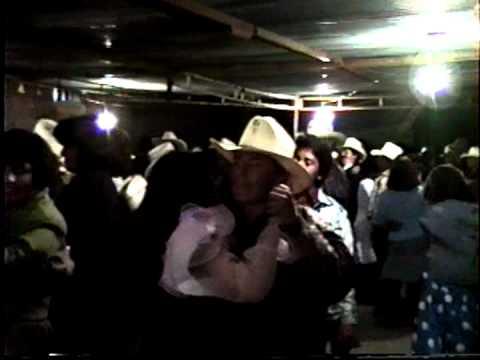 Corrales Sombrerete Zacatecas baile de año nuevo 1991