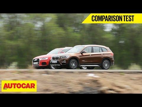 BMW X1 vs Audi Q3 | Comparison Test | Autocar India
