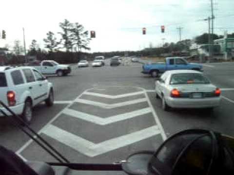 THIS IS WHY YOU LOOK BEFORE TAKING THE INTERSECTION.