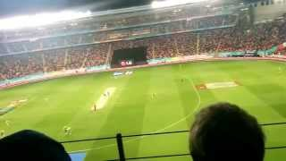 New Zealand vs South Africa winning moment