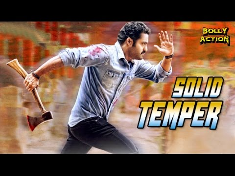 Solid Temper | Hindi Dubbed Movies 2017 Full Movie | Jr. NTR | Latest South Indian Movies Dubbed