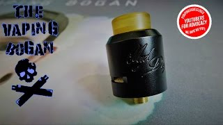 Desire Mad Dog RDA | Better Late Than Never Review | The Vaping Bogan