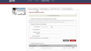 First American Bank - Online Banking Transfer