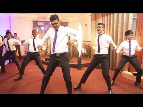 Sri Lankan Wedding surprise dance (dilani & usith )