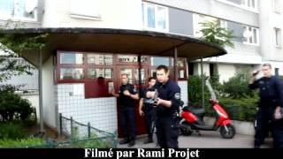 Intervention policière qui dérape en Seine Saint Denis (93) (Filmé par Rami Projet)