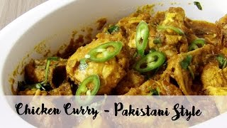 Quick and Easy Chicken Curry | Pakistani Recipe | Hungry for Goodies