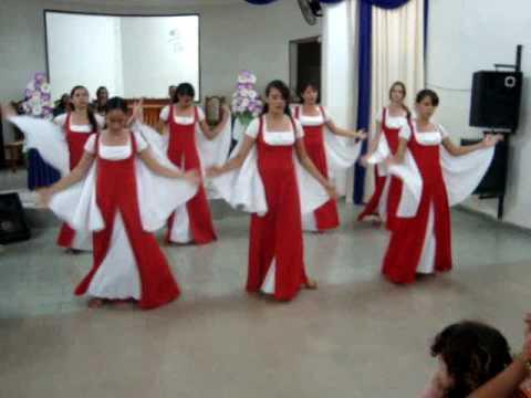 Grupo de Coreografia Evangélica Shekináh apresentado Mais alto de Fernandinho