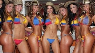 The Most Incredibly Beautiful Women On Earth! Paisas, Medellin, Colombia 2015 Lingerie Show,