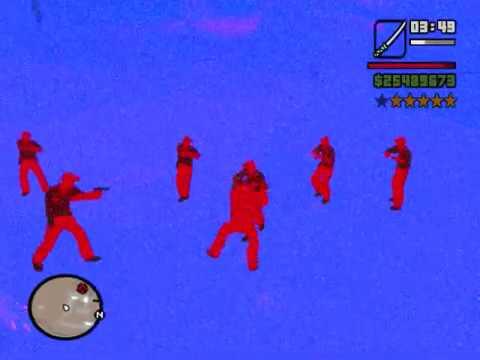 loquendo gta san andreas dos armas escondidas y jugar de a dos ps2