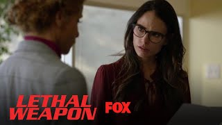 Gina Santos Asks Dr. Cahill To Sign The Affidavit | Season 2 Ep. 13 | LETHAL WEAPON