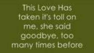 Maroon 5this Love With Lyrics