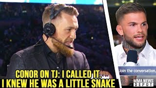 UFC Pros react to TJ Dillashaw's failed USADA test; RDA vs Lee; Rockhold moves to LHW; Dana on Conor