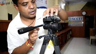 Best budget Tripod for Video & Photo Shoot..Photron Stady Pro 560 Unboxing & Review..